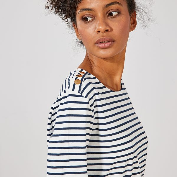 t-shirt femme mariniere