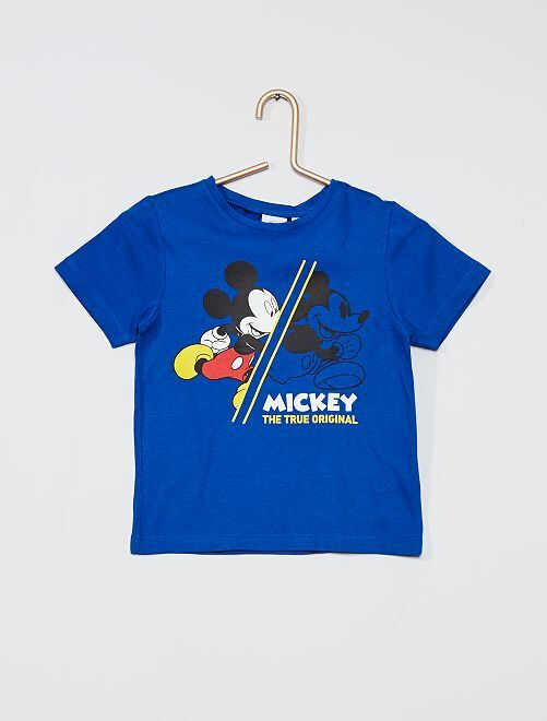 Tee-shirt 'Mickey Mouse' de 'Disney'                                                     bleu