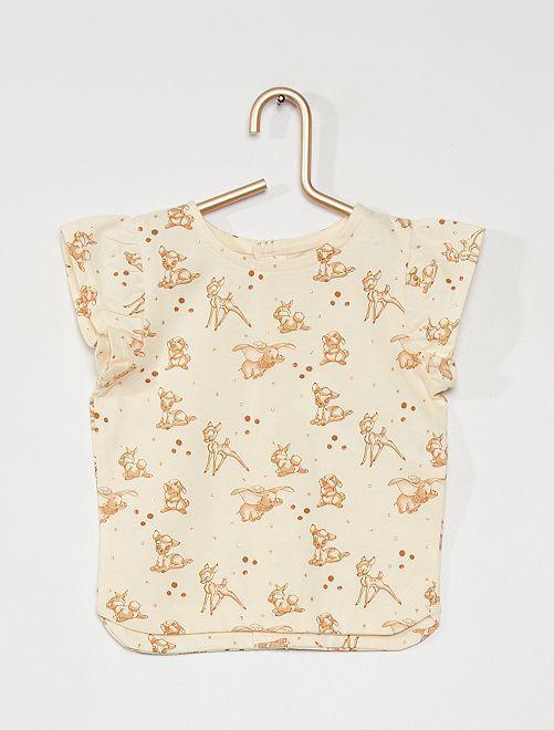 Tee-shirt 'Minnie' en jersey                                                     BLANC