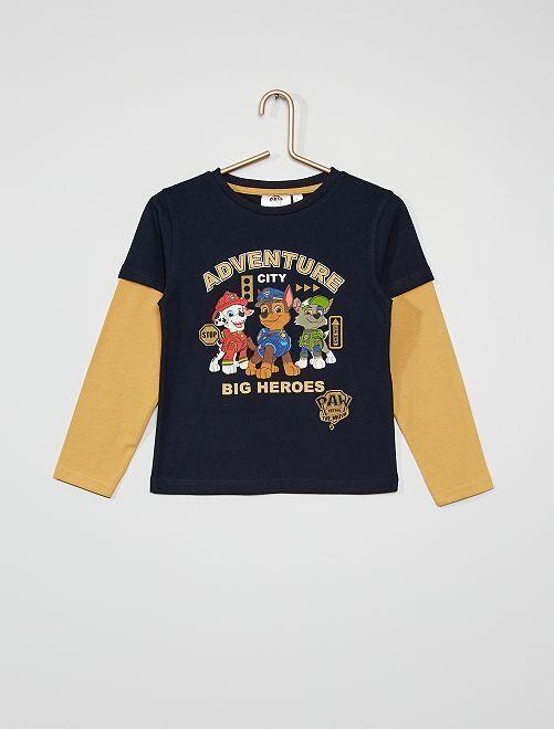 Tee-shirt 'Pat 'patrouille'                             bleu marine