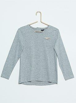 Fille 4-12 ans Tee-shirt pur coton