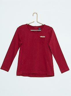 Fille 4-12 ans Tee-shirt pur coton