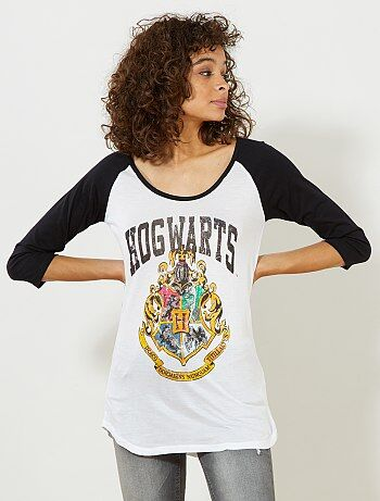 Tee-shirt raglan 'Harry Potter' - Kiabi