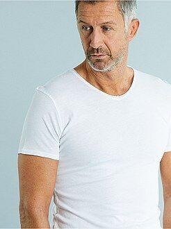 Homme du S au XXL Tee-shirt slim col V jersey light