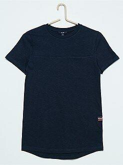 Garçon 10-18 ans Tee-shirt uni long