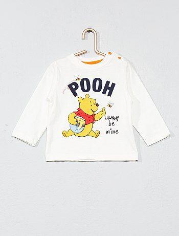 Tee-shirt 'Winnie l'Ourson' - Kiabi
