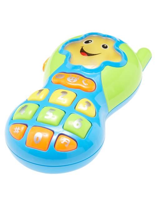 Téléphone d'éveil 9 mélodies                             bleu/vert