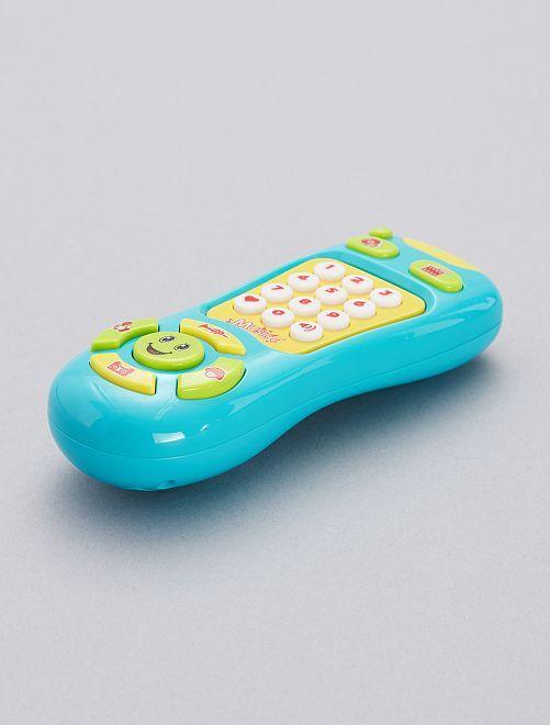 Téléphone d'éveil                                         bleu