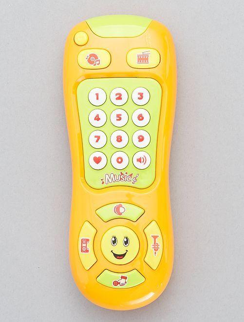 Téléphone d'éveil                                         jaune