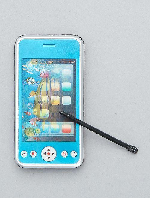 Téléphone portable factice                                                                 bleu