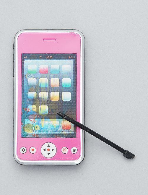 Téléphone portable factice                                                                 rose