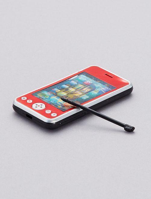 Téléphone portable factice                                                                 rouge