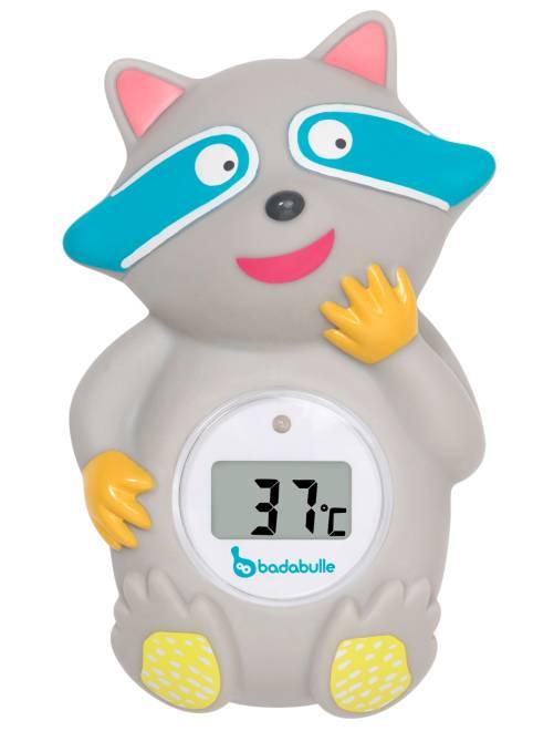Thermomètre de bain digital 'Badabulle'                             gris
