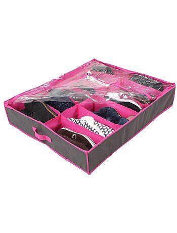 Tiroir de rangement chaussure en tissu - Kiabi