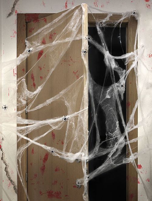 Toile d'araignée                             noir/blanc