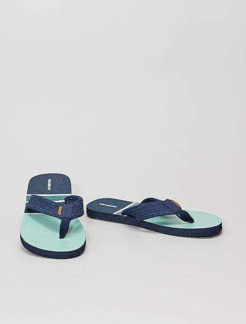 Tongs de plage                                         bleu navy