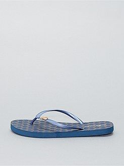 Chaussures - Tongs imprimées 'Ananas' - Kiabi