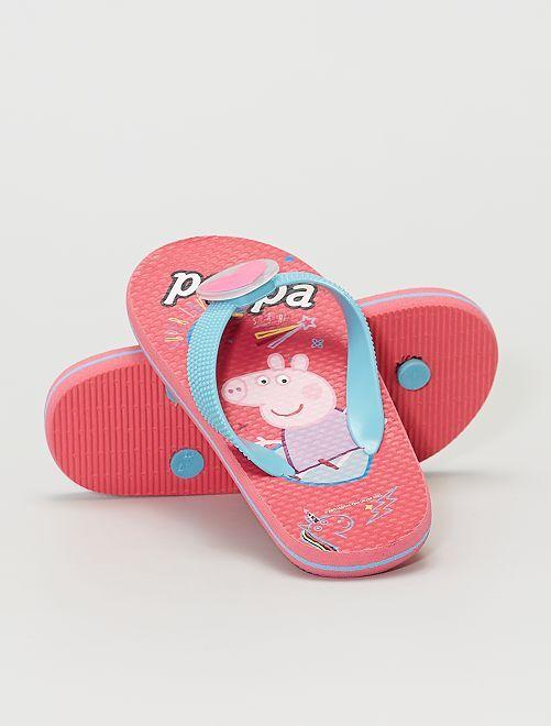 Tongs 'Peppa Pig' lumineuses                             rose