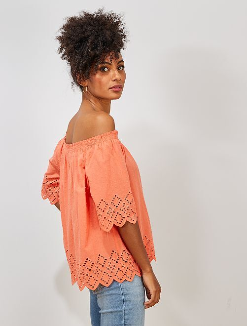 Top bardot                                                                 corail