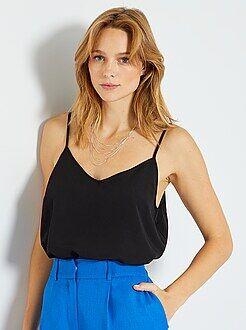 Top, blouse - Top fines bretelles - Kiabi