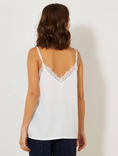 3052e000150e1 Top lingerie en dentelle