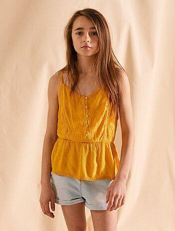 b8d82ff7af1dd Soldes chemise fille et blouse - vêtement Vêtements fille   Kiabi