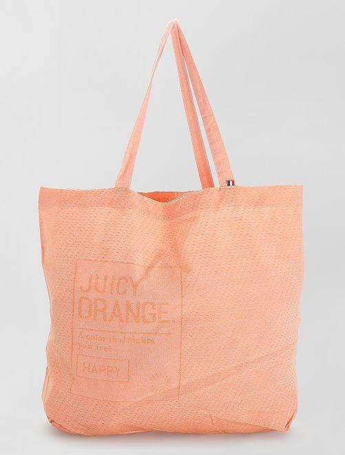 Totebag made-in-France                                                                 orange