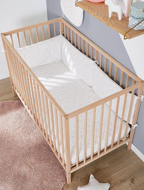 Tour de lit 'licorne'                             blanc Bébé fille