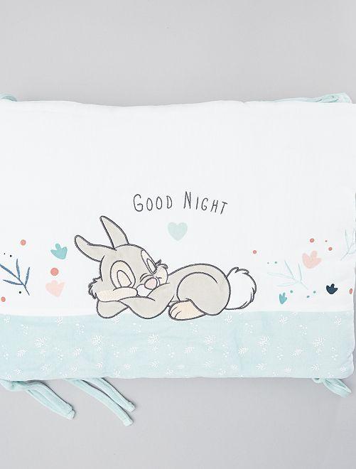 Tour de lit 'Panpan' de 'Bambi'                             blanc