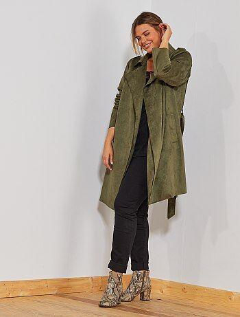 96ab9e25e8 Soldes veste manteau femme pour rester au chaud Vêtements femme   Kiabi