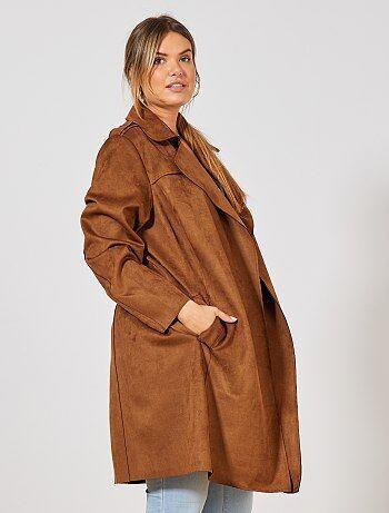 cc4fb0379 Manteau, blouson, trench, doudoune Grande taille femme | Kiabi
