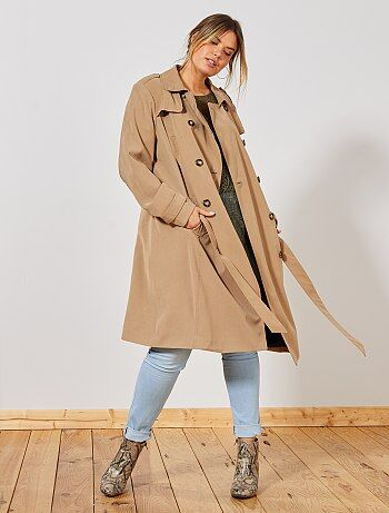 Trench, imper Grande taille femme | taille 4648 | Kiabi