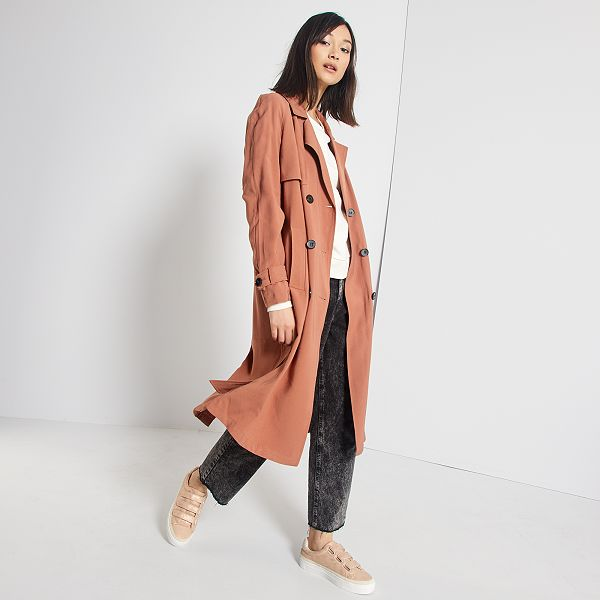 trench long femme t 54