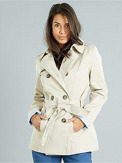 Trench Coat Femme Imperm 233 Able Femme Kiabi