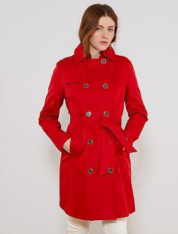 Kiabi Imperméable Coat Soldes Femme Femme Trench PxnP7Hq8