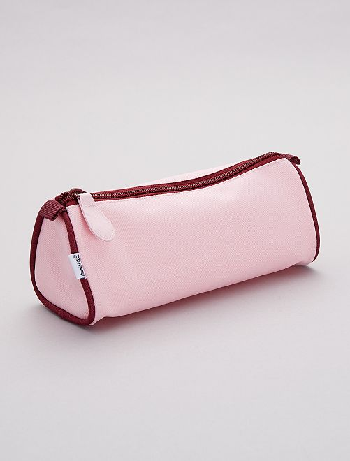 Trousse triangle                             rose Fille
