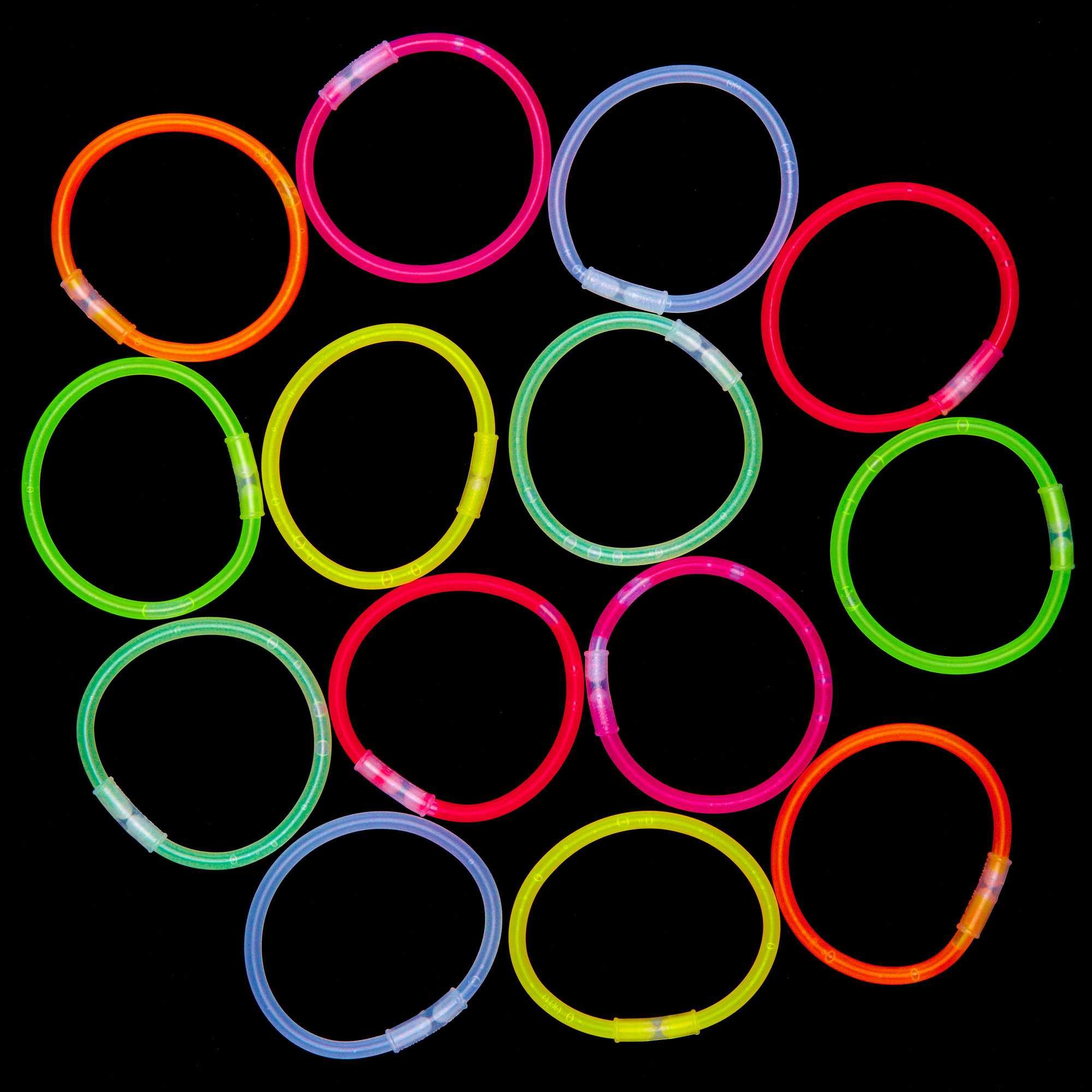 Couleur : multicolore, , ,, - Taille : TU, , ,,Préparez vous à faire des heureux avec le tube 15 bracelets lumineux aux couleurs