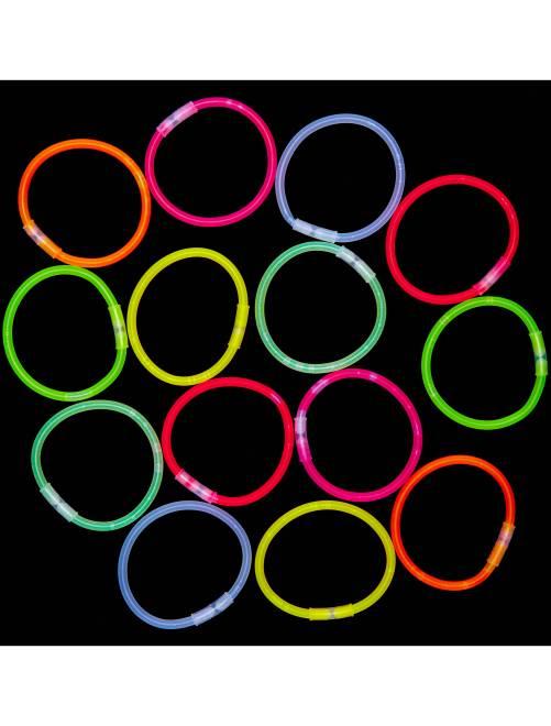 Tube 15 bracelets lumineux                             multicolore Accessoires