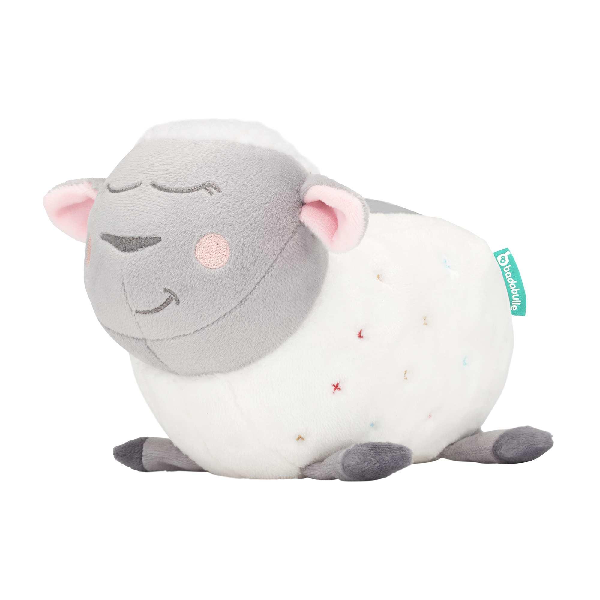 Couleur : blanc, , ,, - Taille : TU, , ,,Le nouveau compagnon des nuits de bébé ! - Veilleuse mouton - Fait de la lumière et