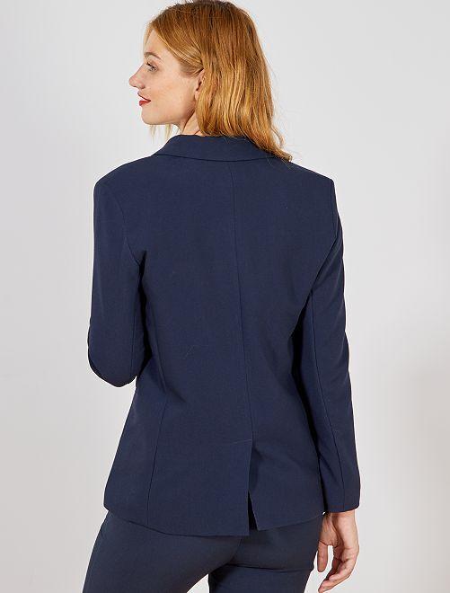 fcbb83fcf1c4 Veste blazer double boutonnage Femme - rouge - Kiabi - 25