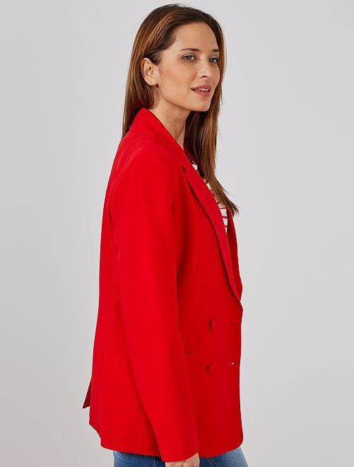Double 00€ Kiabi Boutonnage Femme Veste Blanc Blazer 25 knOXwN80PZ
