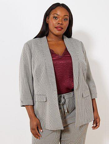 veste blazer femme pour femme forte kiabi