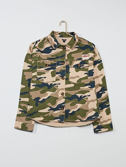 Veste camouflage                             camouflage