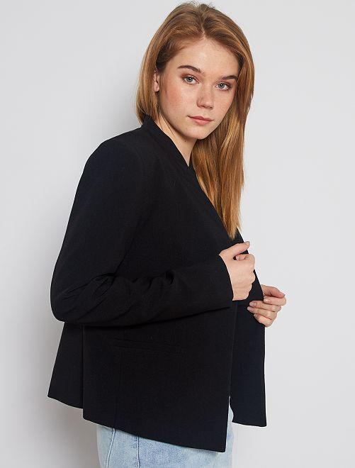 Veste courte de tailleur                                                                                                                                         noir