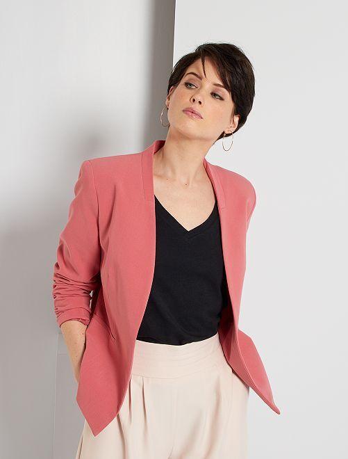 Veste courte de tailleur                                                                             rose