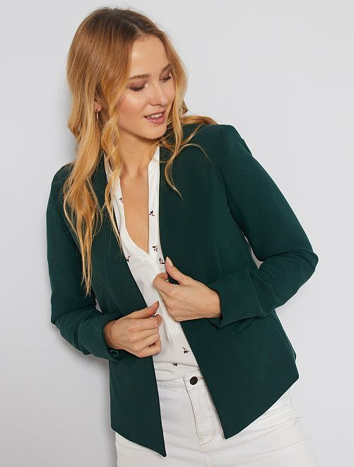 Veste courte de tailleur                                                                                                                                         vert
