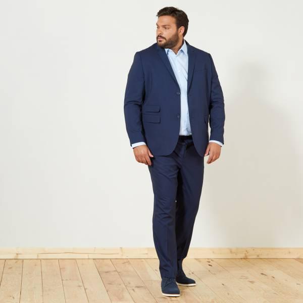 Blouson Grande taille homme | noir | Kiabi