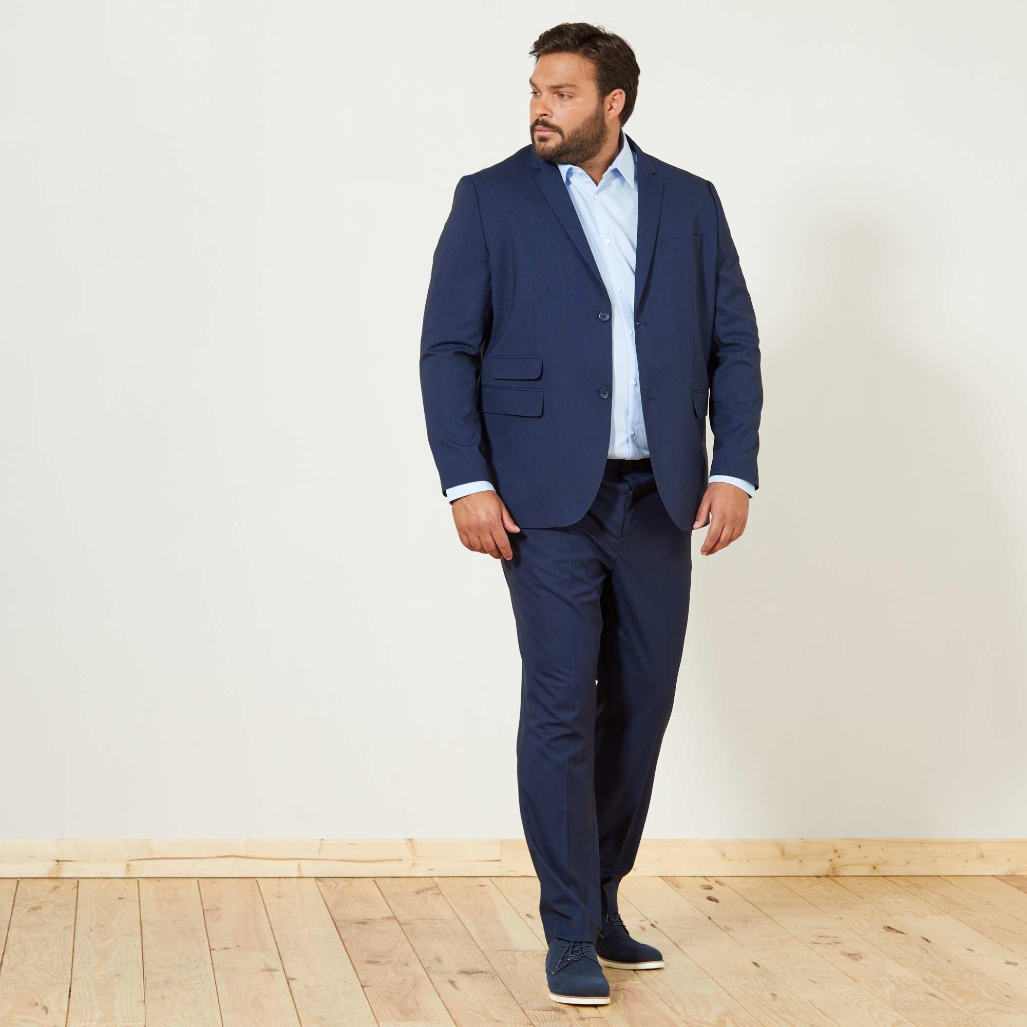 Couleur : bleu marine, , ,, - Taille : 70, 68, 64,62,60Vous apprécierez la coupe droite de cette veste de costume, confectionnée dans un beau
