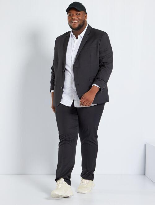 Veste de costume fitted                                         noir