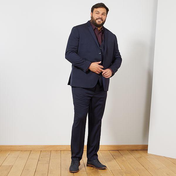 Veste de costume regular Grande taille homme